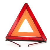 Traffic triangle — Stock Photo
