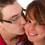 Kissing couple — Stock Photo #2916603