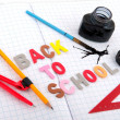 Stock Photo: Old fashioned back to school