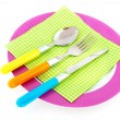Colorful summer table — Stock Photo