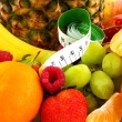 Healthy fresh fruit — Stock Photo