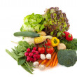 Assortment vegetables — Stock Photo