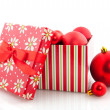 Royalty-Free Stock Photo: Box with christmas balls