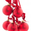 Red christmas balls — Stock Photo #2938501