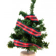 Simple christmas tree - Stock Photo