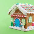 Gingerbread house - Stock Photo