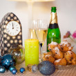 Dutch new years eve — Stock Photo
