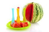 Prepared melon — Stock Photo