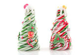 お菓子クリスマス ツリー — ストック写真