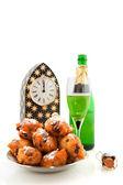 Dutch new years eve — Stock Photo