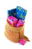 Bag from Dutch Sinterklaas — Stock Photo