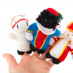 Sinterklaas finger puppets — Stock Photo #2940142