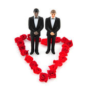 Gay wedding — Foto Stock