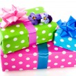 Colorful presents — Stock Photo #3019108