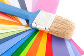 Decorating and painting — Stok fotoğraf