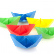 Paper boats — Stock Photo #3021105