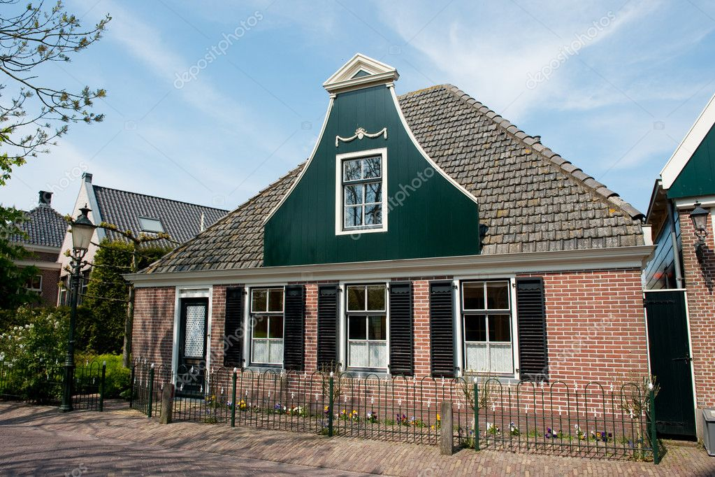 Traditional dutch house stock photo ivonnewierink 3020709 for Classic dutch house of 60m2
