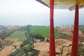 Aero pohled z peloponésu — Stock fotografie
