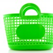 Stock Photo: Empty green bag
