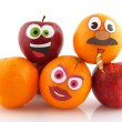 Funny fruit - Stockfoto