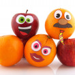 Funny fruit - Foto Stock
