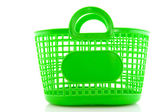 Empty green bag — Stockfoto