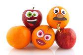Fruta divertida — Foto de Stock