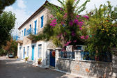 Greek residential — Stock Photo