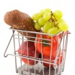 Royalty-Free Stock Photo: Basket with daily food