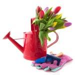 çiçekli dekoratif sulama olabilir — Stok fotoğraf #3096779