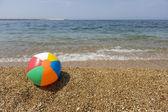 Colorful beach ball — Stock Photo