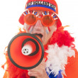 Dutch soccer supporter — Stock Photo #3140190