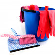 Cleaning attributes — Stock Photo