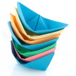 Paper boats — Stock Photo #3141919