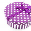 Purple present — Stock Photo