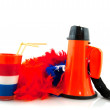 Stock Photo: Supporting Dutch