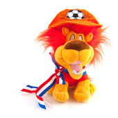 Dutch soccer mascotte — Stock Photo
