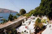 Greek cemetery — Stock Photo