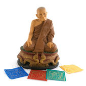 Buddhism monk — Stock Photo