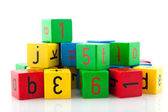Colorful blocks — Stock Photo