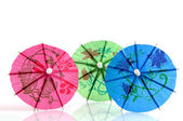 Colorful parasols — Stock Photo