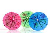 Colorful parasols — Stock Photo