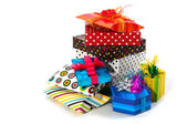 Many presents — Stock Photo