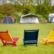 Stock Photo: Campground