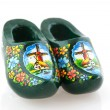 Typical Dutch clogs — Stock Photo