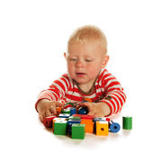 Jogar menino — Foto Stock