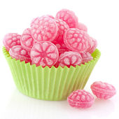 Raspberry candy — Stock Photo