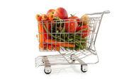 Achats de légumes frais — Photo