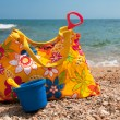 Beach bags - Stock Photo
