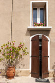 ロマンチックなフランスの家 — ストック写真